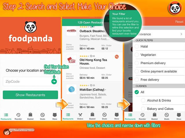 FoodPanda App User Guide 2