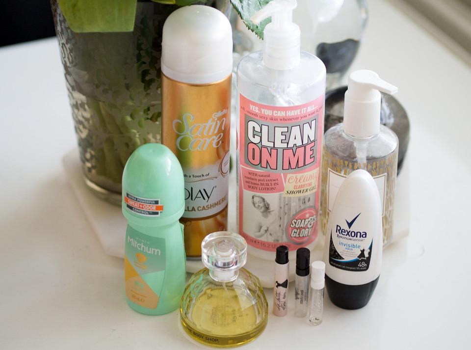 soap glory clean on me mitchum rexona origins the body shop