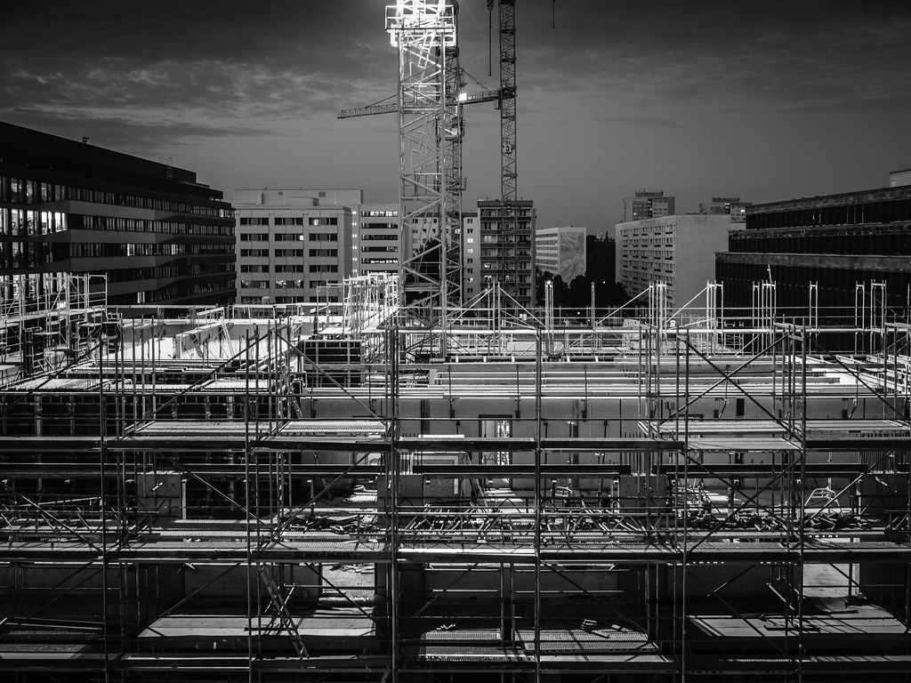 Construction Site former Parking Garage Keibelstraße | Flickr