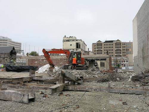Government Life demolition