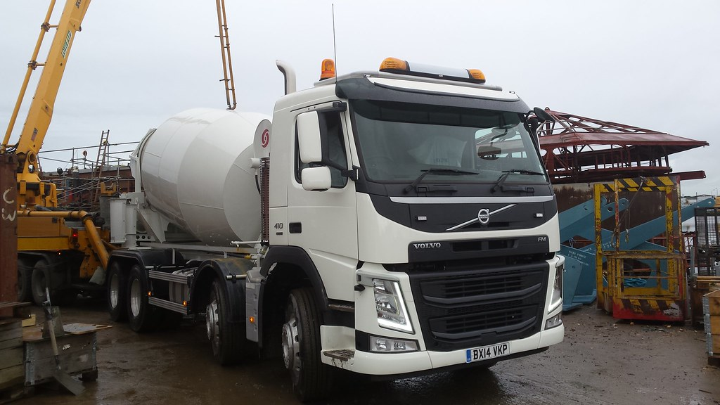 Volvo Fm 410 Euro 6 Bx14 Vkp Demonstrator Concrete Mixer