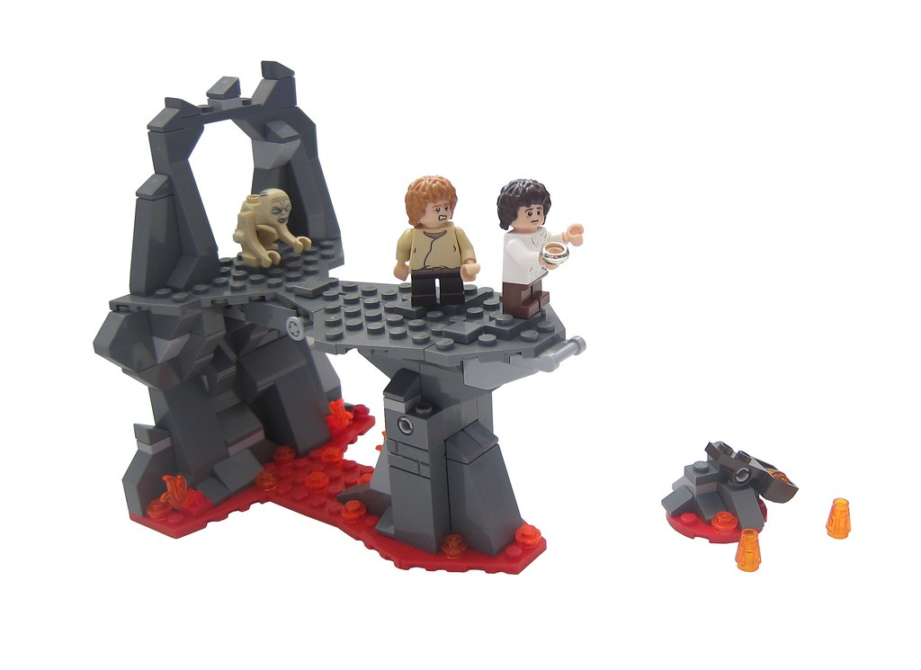 Lego Lord Of The Rings Mount Doom Set