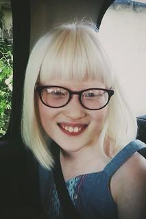 Zoe's new glasses