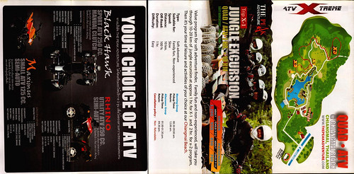 Brochure The Peak Adventure ATV Chiang Mai Thailand 7