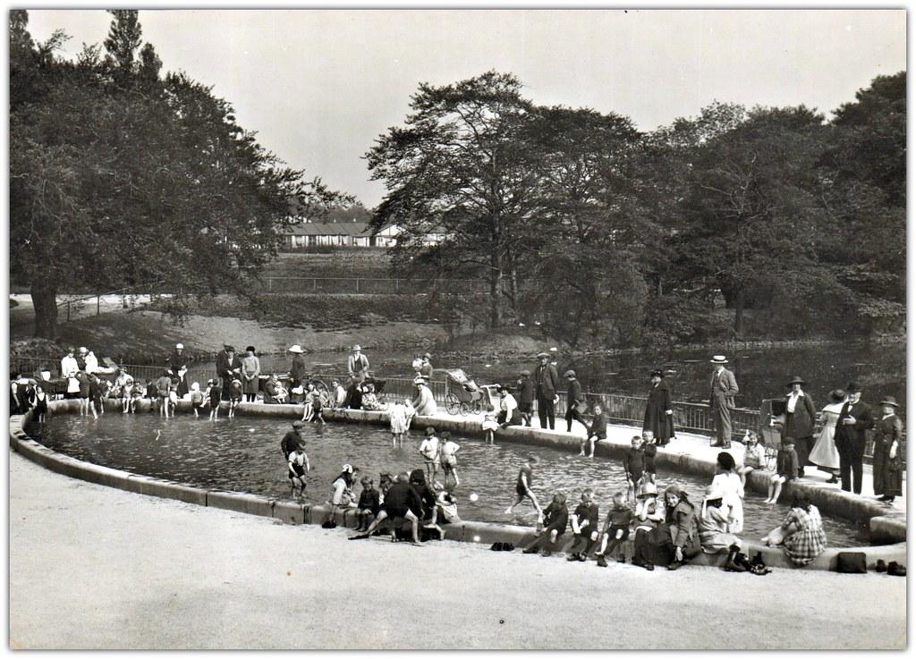 Children 39 S Wading Pool Moor Park Preston Opening Day J Flickr