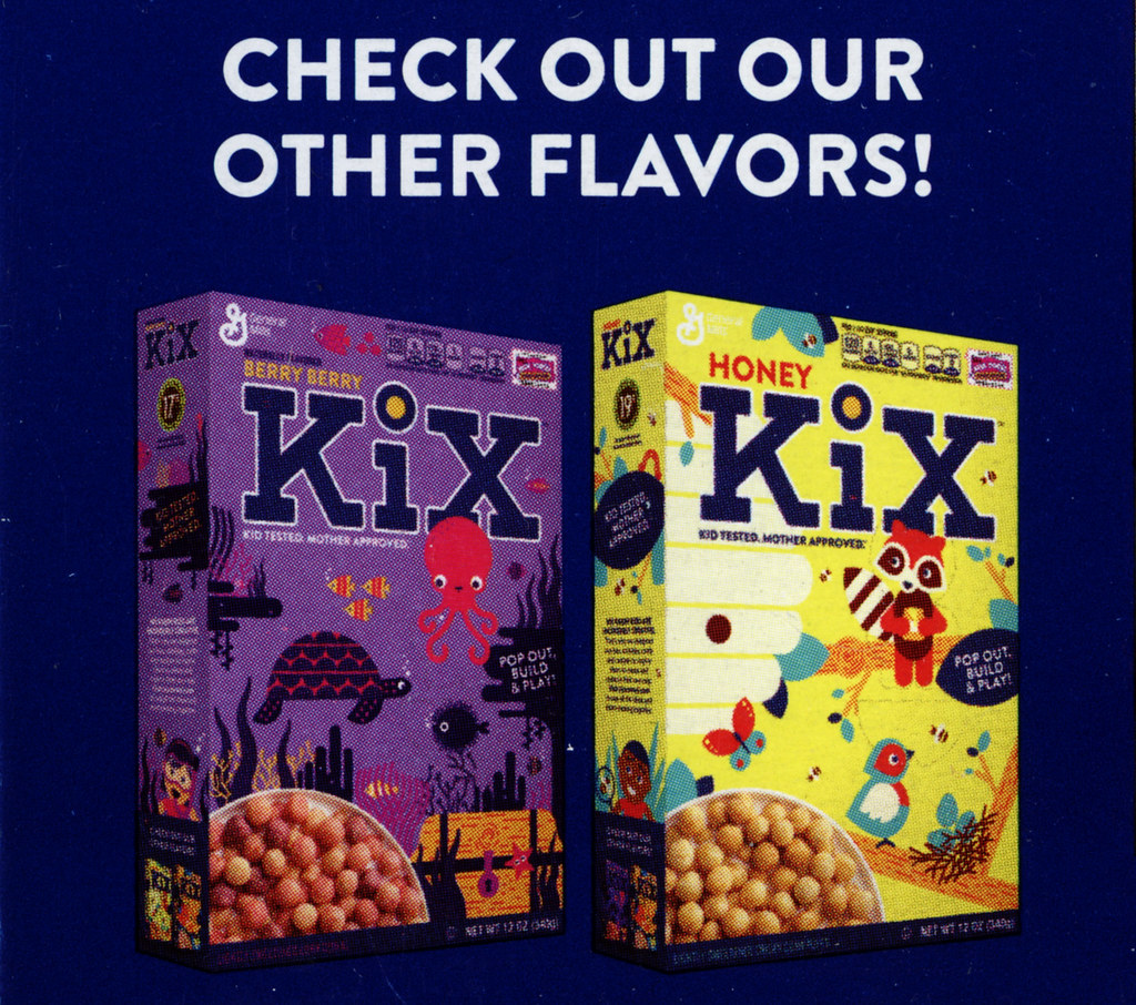 Pop Out Build And Play Cereal Boxes