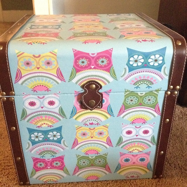 ... I found this adorable #owl #storage #trunk for my daughters #bedroom today & I found this adorable #owl #storage #trunk for my daughteru2026 | Flickr