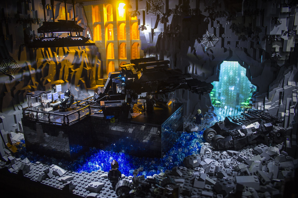 Dark Knight Rises Batcave Design By Brent Waller T Flickr