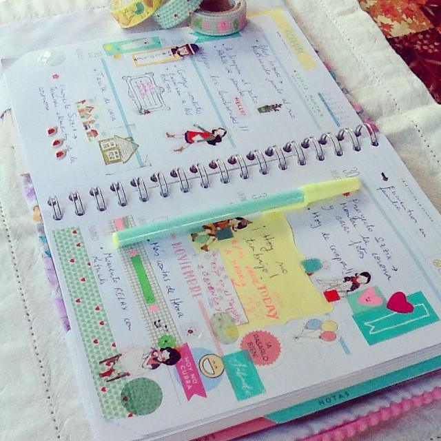 Souvent Y en verde menta acbó la semana psada #planner #plann… | Flickr UK97