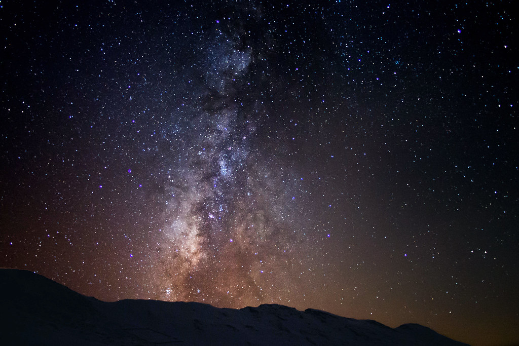 The Milky Way Galaxy   A view of the Milky way galaxy from ...