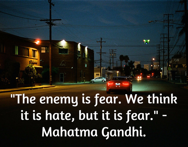 Hate-Fear-Quote