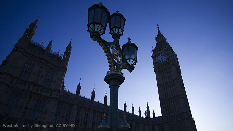 Westminster by Jlhopgood, CC BY-ND