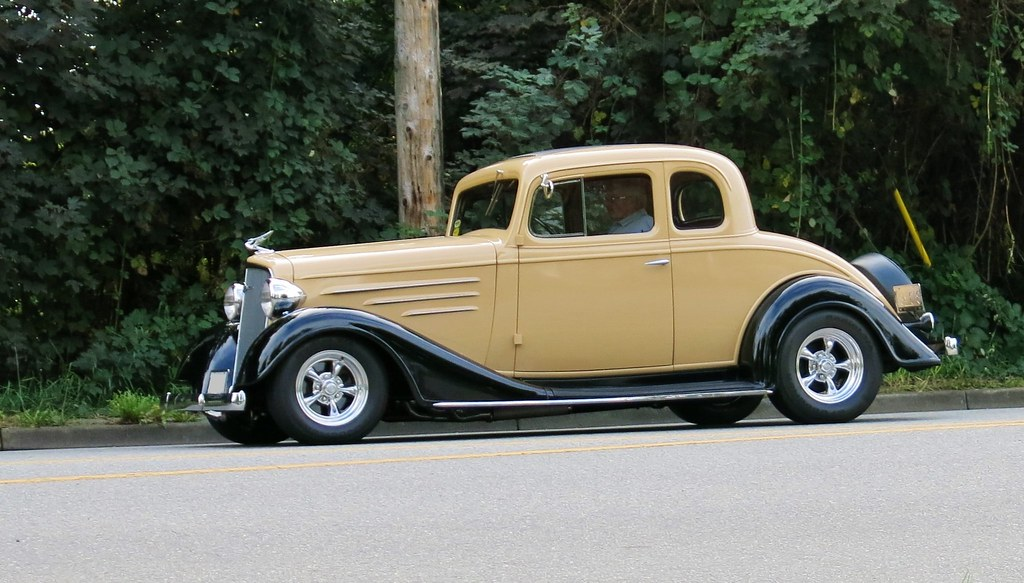 Street rod autos post for 1934 chevy 5 window coupe