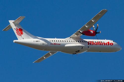 Malindo Air ATR 72-600 (72-212A) cn 1186 F-WWEC // 9M-LMR