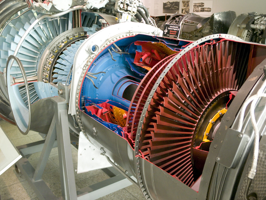 Bypass Turbojet Engine, Designed For