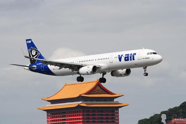 威航 V Air Airbus A321-231 B-22608