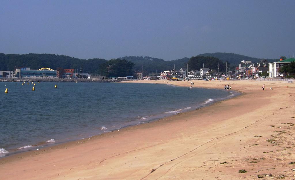 무창포해수욕장 Muchangpo Beach, South Korea