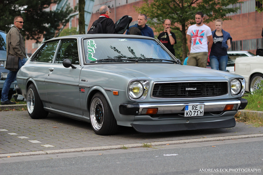 Toyota Corolla E50 Liftback | Flickr - Photo Sharing!