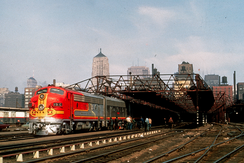 Atsf 19c Grand Canyon Dearborn Station Chicago Il Rrw 3 67
