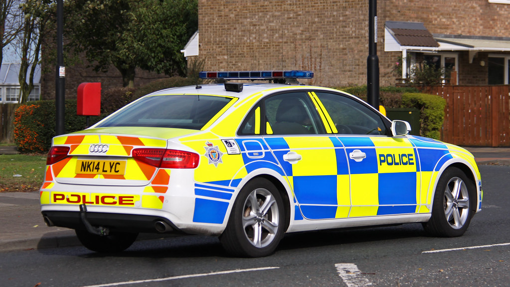 Northumbria Police Roads Policing Unit Audi A4 Quattro Tra