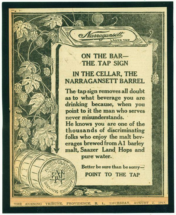 Narragansett-1917-tap