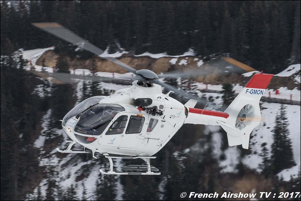 Eurocopter EC-135-T1 - F-GMON , Saf-helico , S.A.F Service Aérien Français , Fly Courchevel 2017 , Hélico 2017