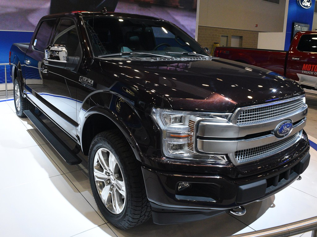 2018 Ford F150 Platinum Ford Has Made Several Changes To