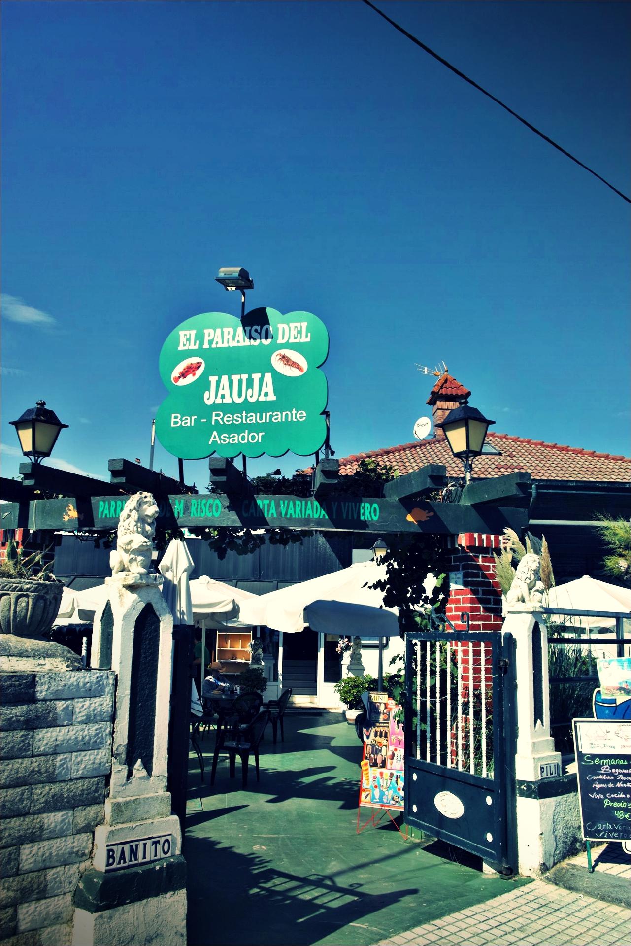 Jauja 식당-'카미노 데 산티아고 북쪽길. 산토냐에서 노하. (Camino del Norte - Santoña to Noja)'