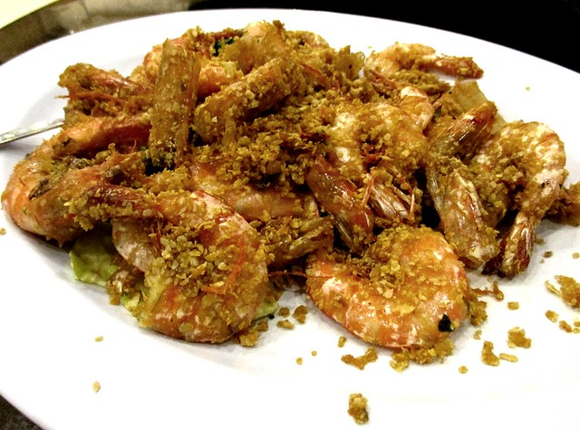 Kingwood cereal prawns