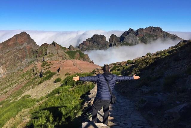 Sele en Madeira (Pico do Arieiro)