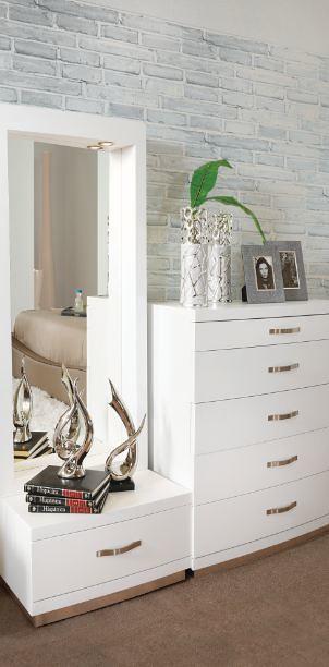 Muebles placencia tocador con espejo vanity luxemburgo for Muebles placencia
