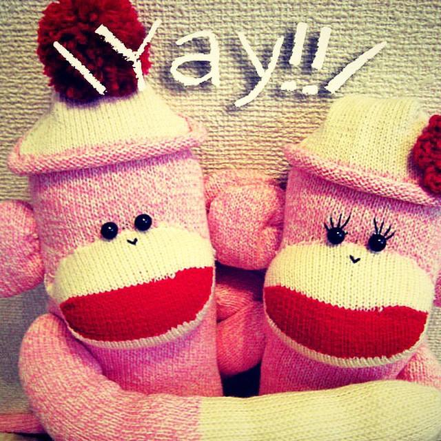 ♡イベント出展決定しました♡ Creema Winter Marketに出展させていただくことになりました! よろしくお願いします! ワクワク\(^o^)/ 大丸百貨店 京都店 12月3日(水)~ 12月9日(火)#Creema #ハンドメイド #イベント #京都 #大丸 #ソックモンキー #ソックスモンキー #靴下猿 #ピンク #kyoto #daimaru #sockmonkey #socks #monkey #pink