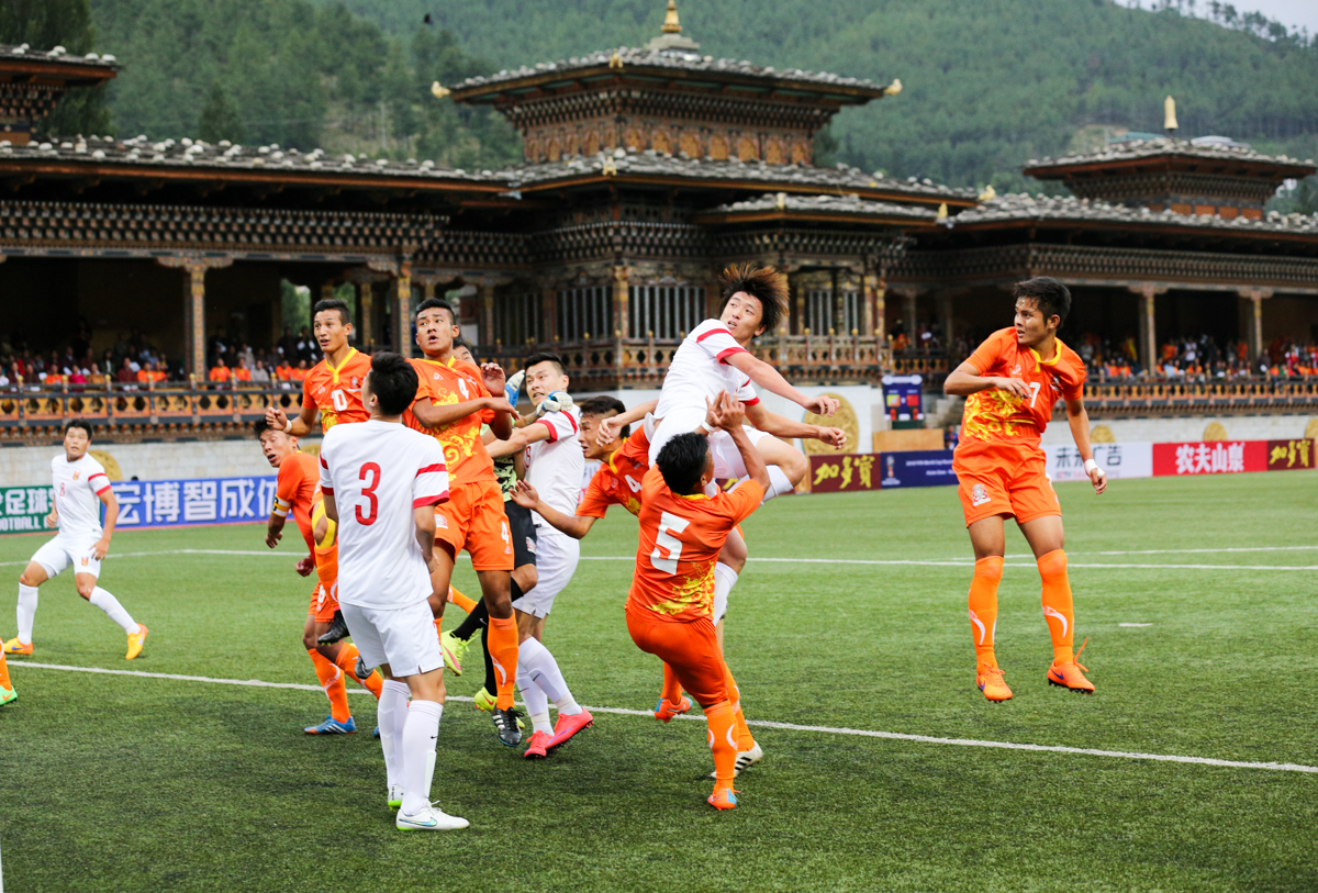Bhutan vs China - FIFA World Cup football qualifiers
