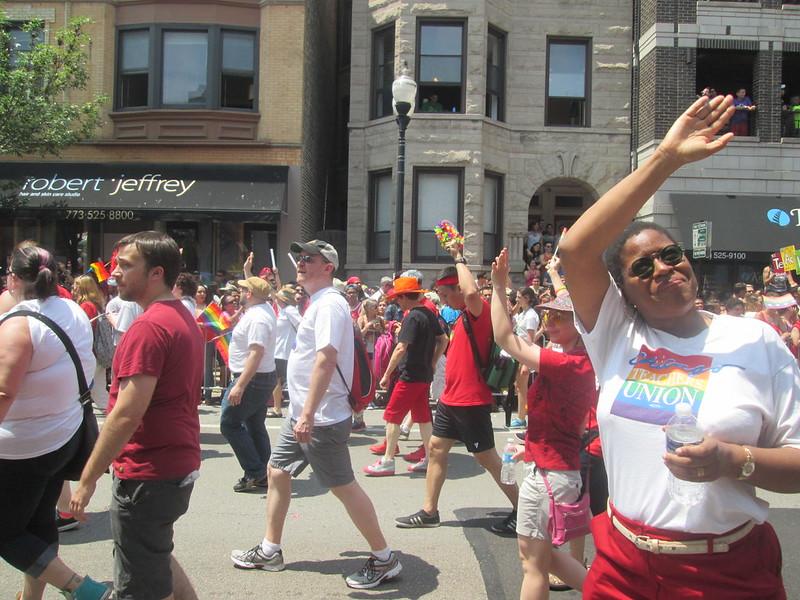 Chicago Teachers Union - Pride shirts