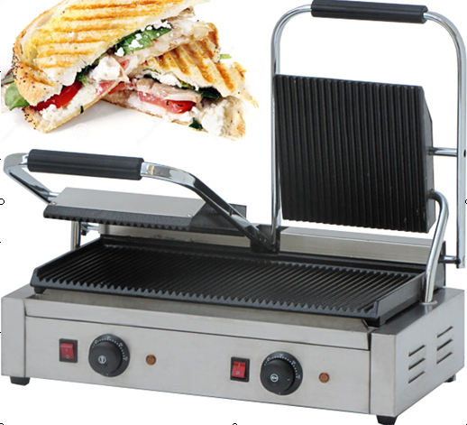 panini sandwich maker double end 3 17 2019 3 00 pm. Black Bedroom Furniture Sets. Home Design Ideas