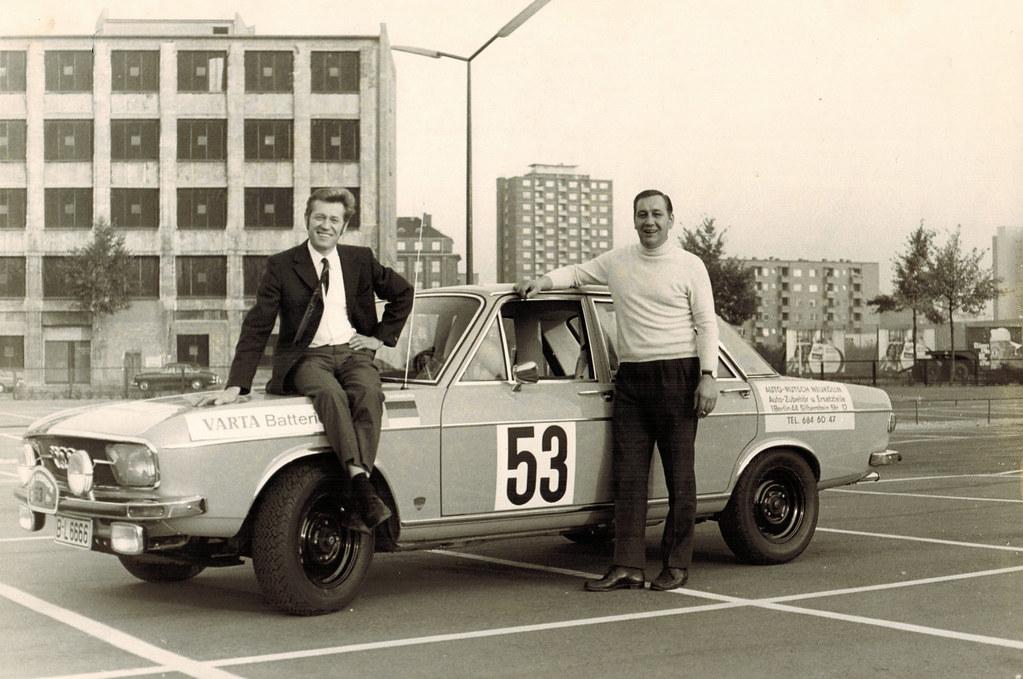 Rallye Tour De Europe 1969 Otto Linzenburg Und Heinz