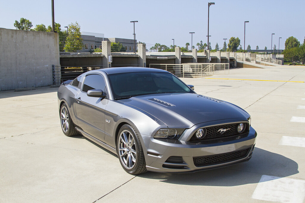 2013 Mustang Gt On Bc Racing Coilovers Team Smart Flickr