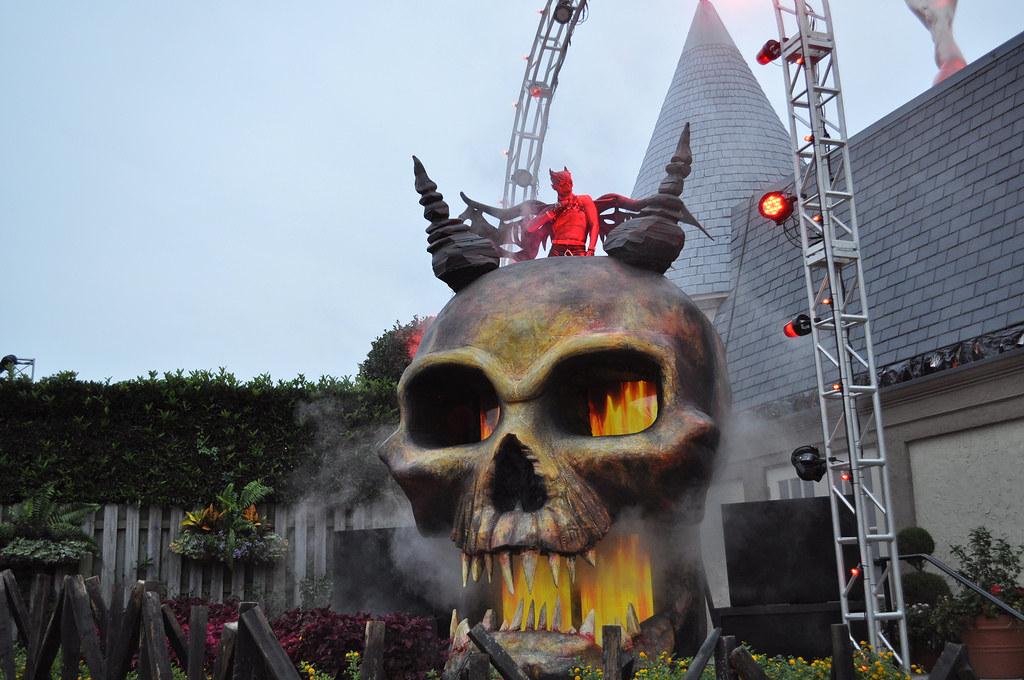 Howl O Scream 2014 At Busch Gardens Williamsburg Ricky