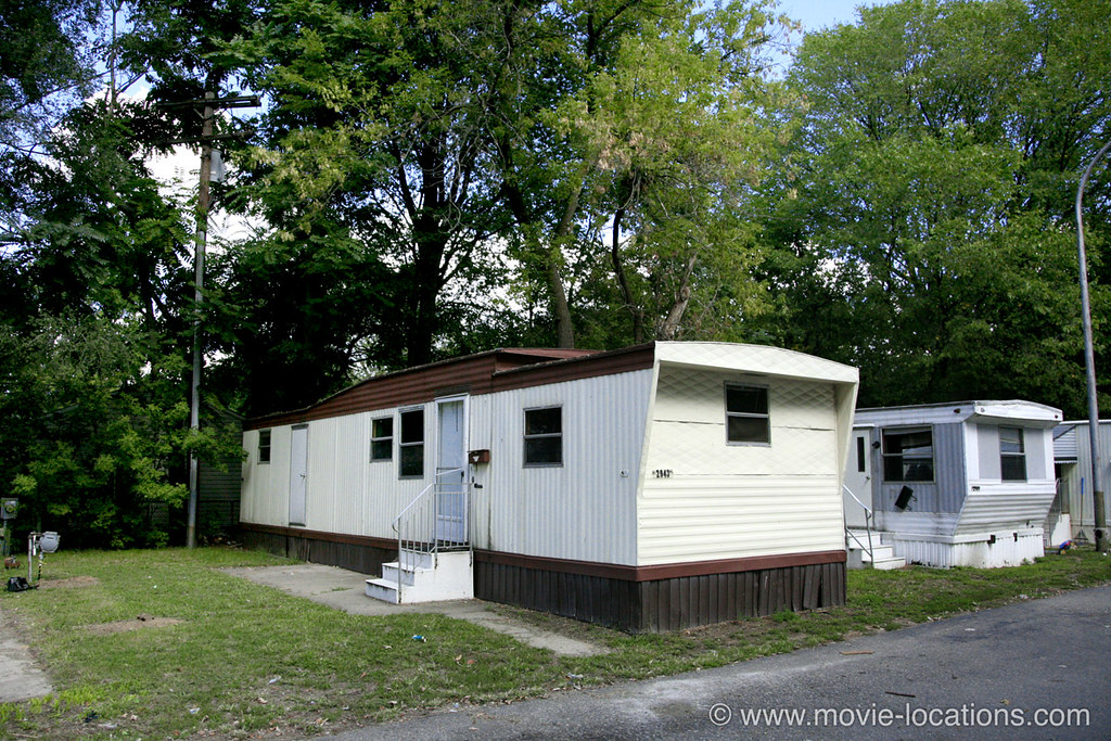 8 Mile Film Location AL Mobile Home Park Detroit