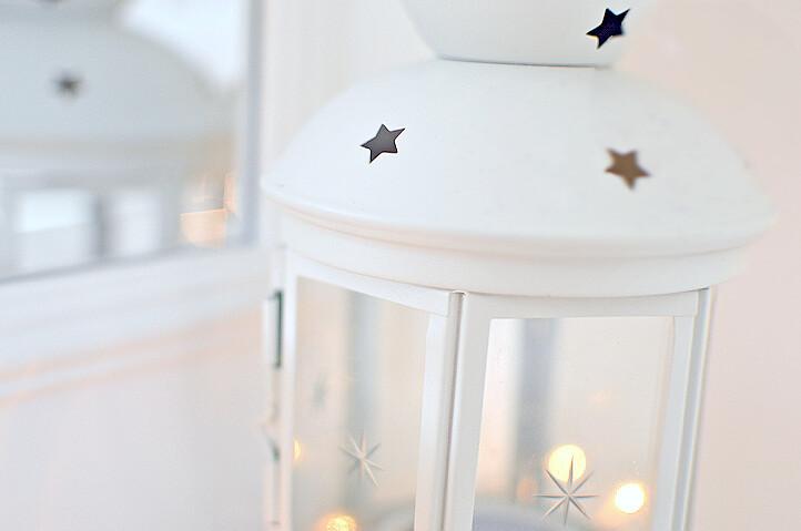 star tea light holder