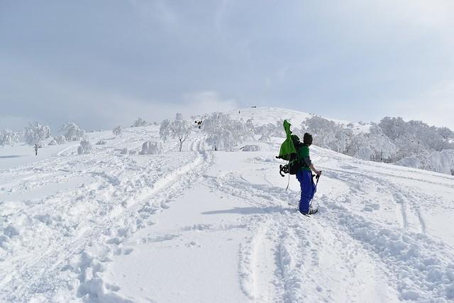 冬の守門岳 雪山登山
