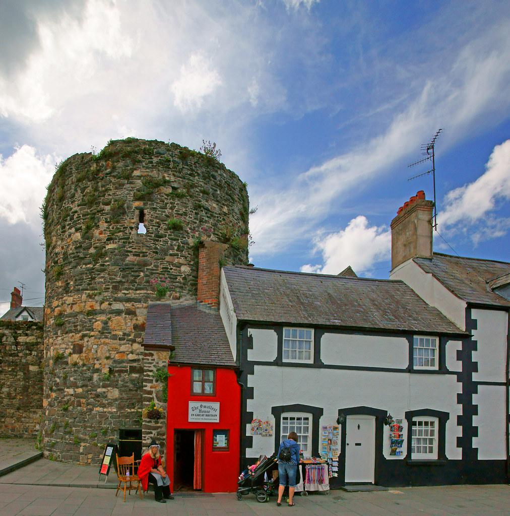 The Smallest House In Great Britain, Conwy, Gwynedd, North