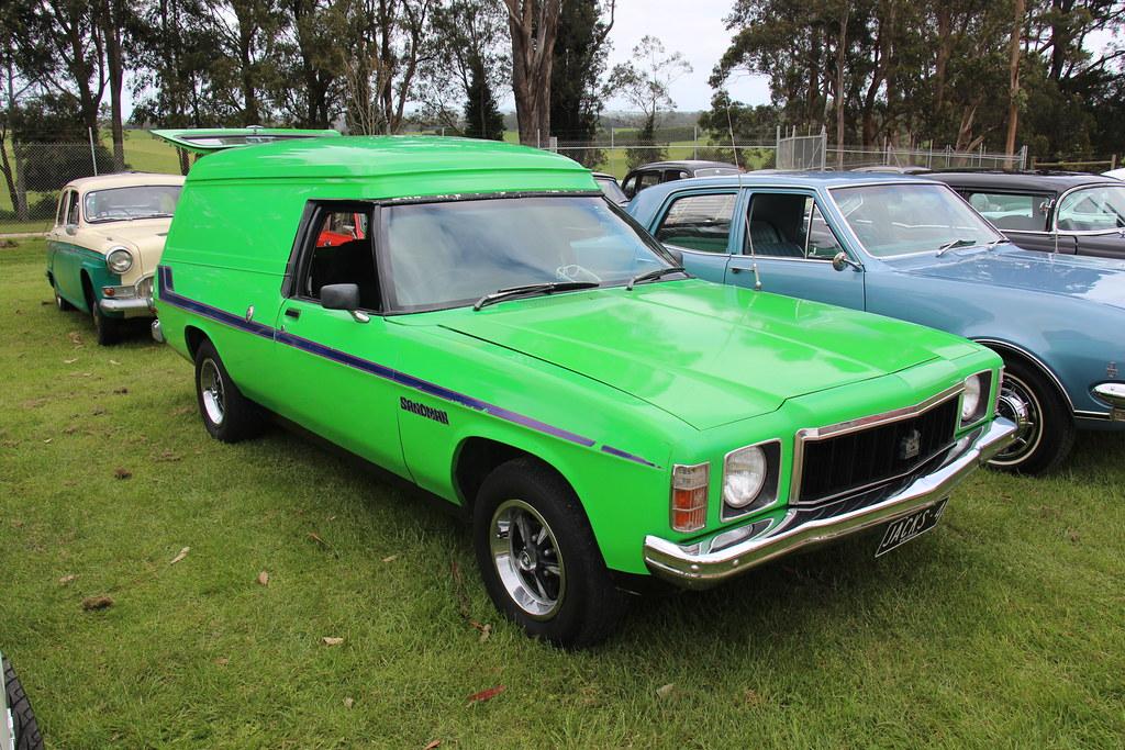 1977 Holden Hx Sandman Panel Van Mint Julip Looks Like