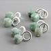 Sapphire Cube Earrings