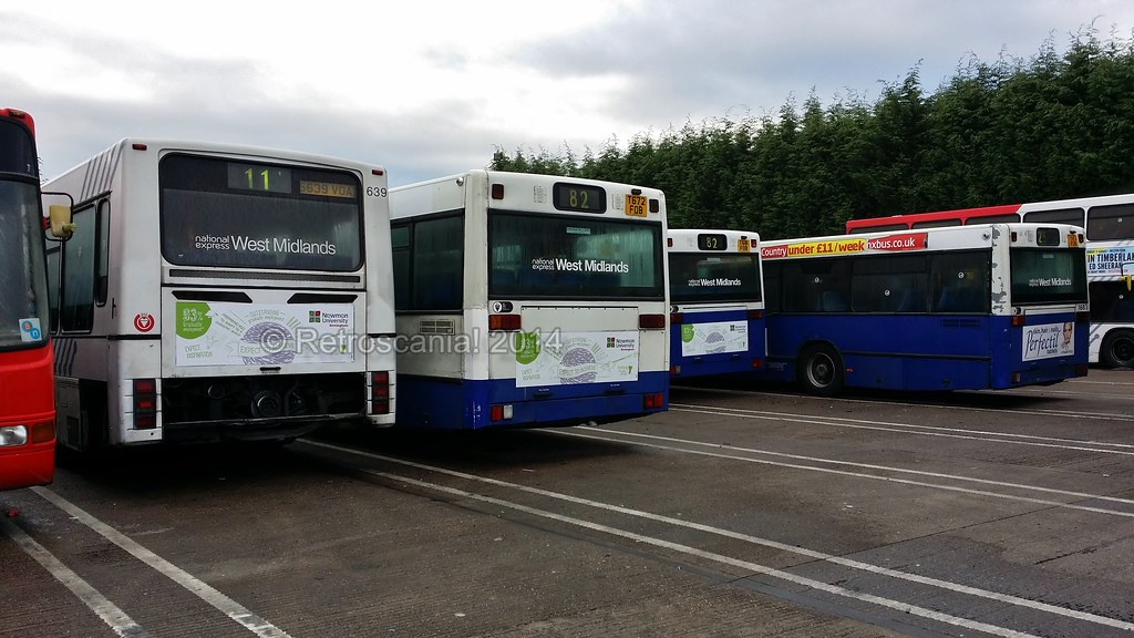 National Express West Midlands - Mercedes-Benz O405N/Volvo ...