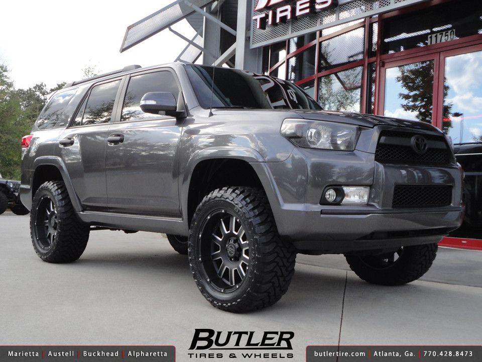 Toyota 4runner With 20in Black Rhino Armour Wheels Flickr