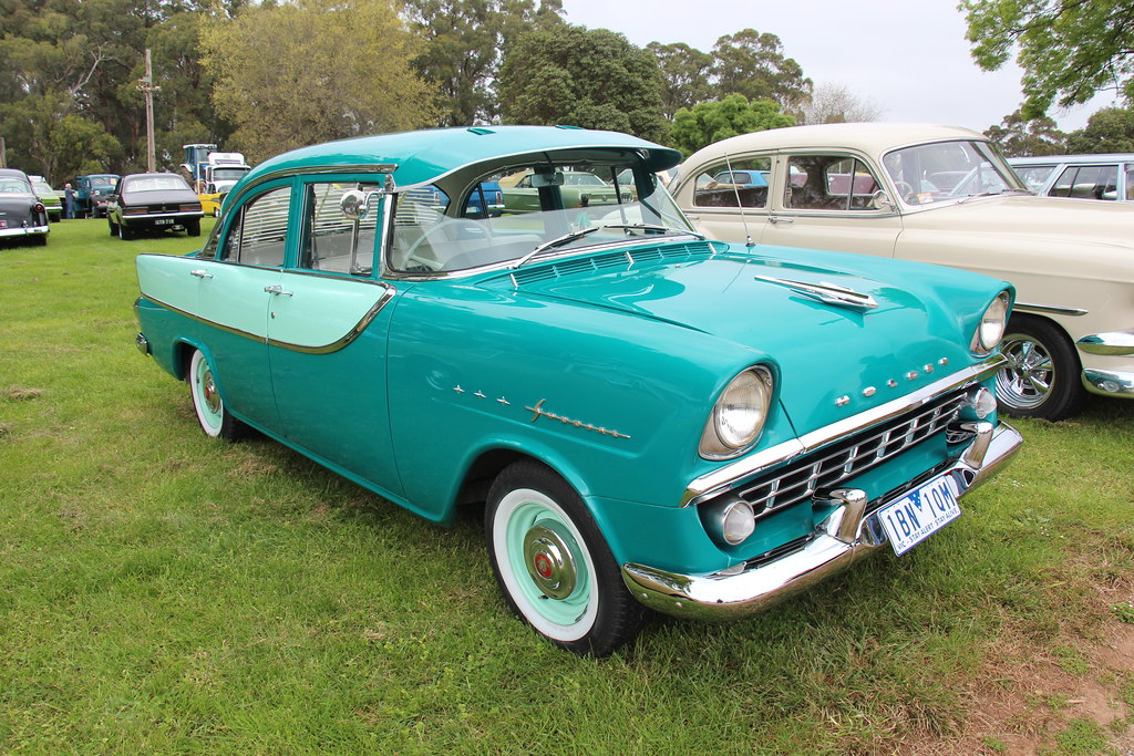 1960 Holden Fb Special Sedan Sherwood Green And Colleen