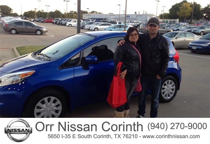 Congratulations To Kristina Juarez On Your Nissan Versa