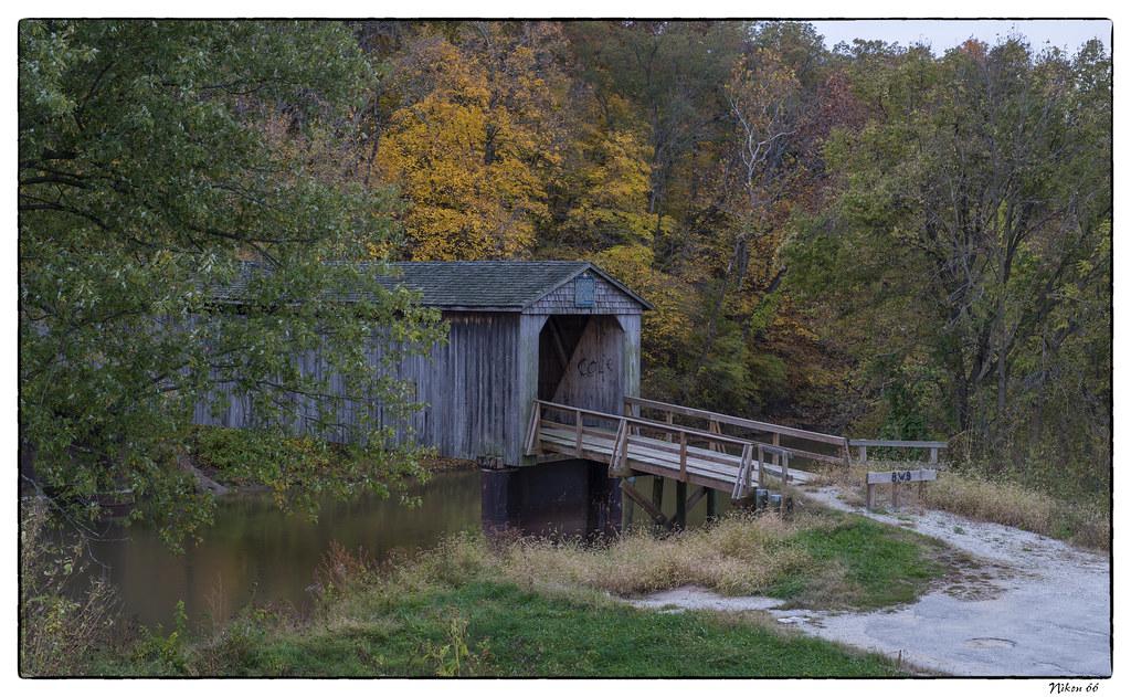 Thompson Mill Covered Bridge No 4 The Thompson Mill