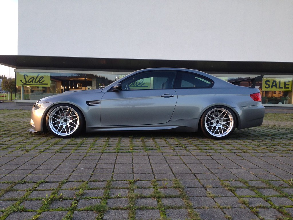 """Bmw Aftermarket Parts >> E92 M3 with 19"""" ARC-8   BMW E92 M3 in Space Gray with our 19…   Flickr"""
